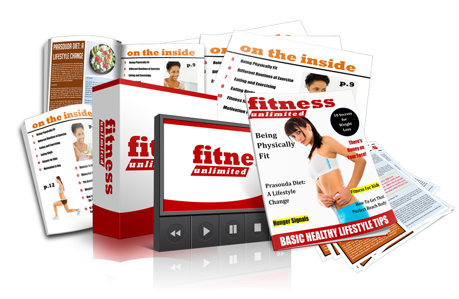 Fitness Magazine PLR