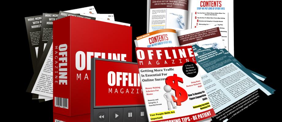 Offline Magazine PLR