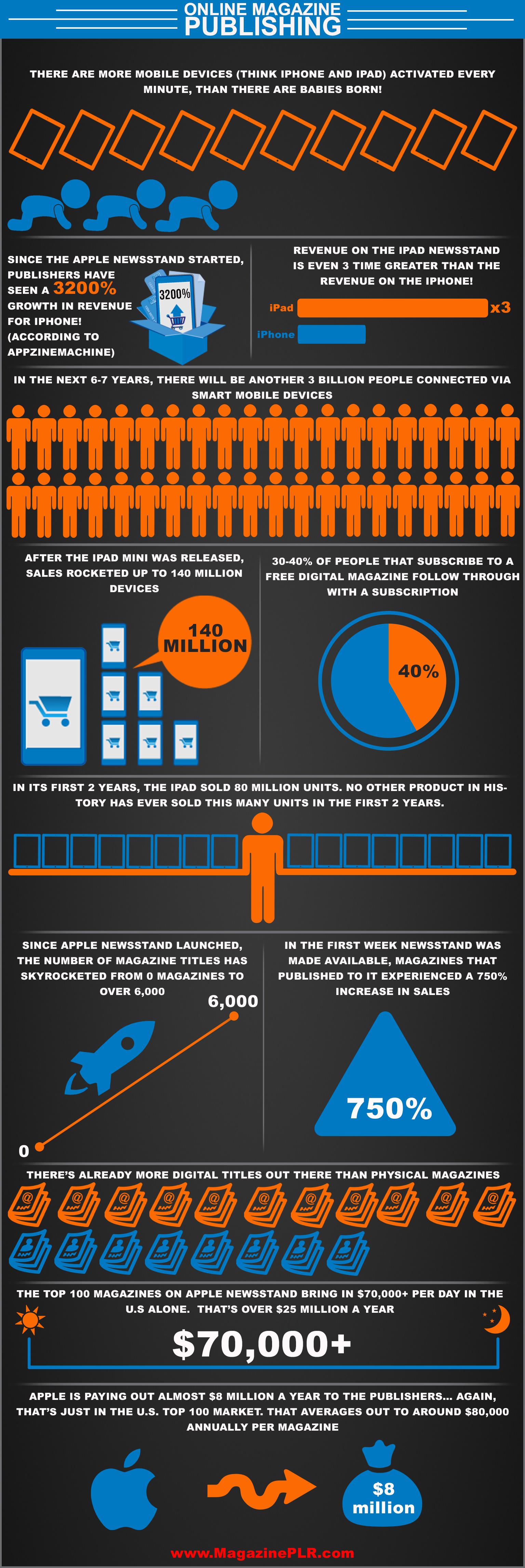 Magazine PLR Infographic